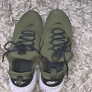 army green nike shoes